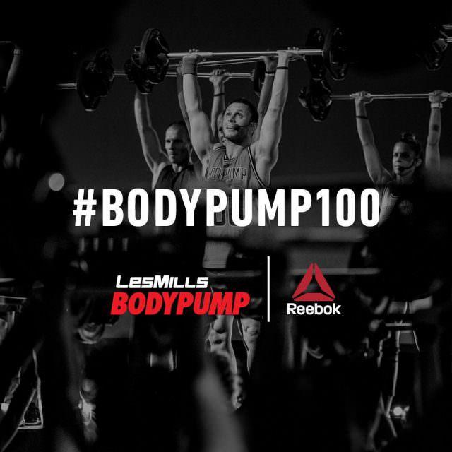 Le lancement mondial du Body Pump 100 cest aujourdhui !hellip